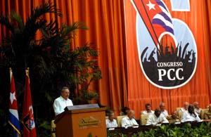INFORME CENTRAL AL VI CONGRESO  DEL PARTIDO COMUNISTA DE CUBA